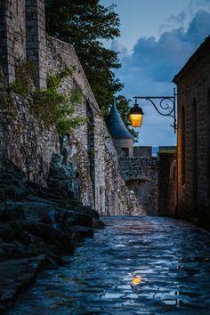 Mont Saint Michel by Willi Streb