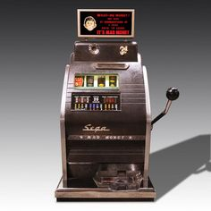 Mad MoneyOne-Armed Bandit from The Games Room Company's Casino selection Mad Money, Casino Games, Eclectic Games, Arcade Games, Game Room, Rooms, Quartos, Arcade Room