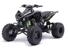 My quad ~ Kawasaki Monster Energy, Subaru, Nascar, Atv Motocross, Play Vehicles, Quad Bike, Atv Quad, Scrambler Motorcycle, Motorcycles