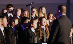 Year 7 Rock Choir delivering their amazing performance of 'Without You'