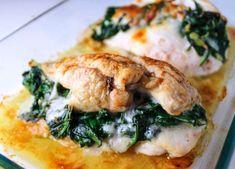 Fırında Ispanaklı Tavuk