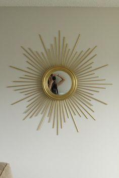 DIY sunburst mirror diy-crafts-home-decor