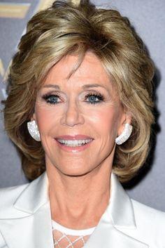 Jane Fonda Wears Balmain A Crop Top And Mesh, Is Peak Crop Top Goals
