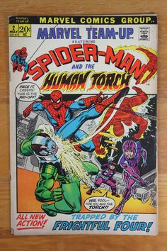 Marvel Team-Up Spider-Man and The Human Torch Vol 1 # 2
