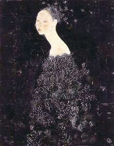 Eri I Japanese Painting, Japanese Art, Female Art, Graphic Illustration, New Art, Painting & Drawing, Amazing Art, Fashion Art, Fantasy Art