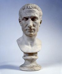 The Chiaramonti Caesar, This portrait bust was probably made after the Ides of March of 44 B.C., sometime between 30-20 B.C.
