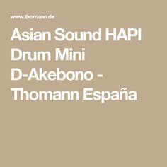 Asian Sound HAPI Drum Mini D-Akebono - Thomann España