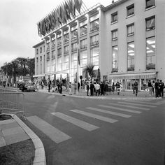 1949, le Palais Croisette - Photographe Traverso - © Ville de Cannes