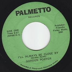 """45vinylrecord I'll Always Be Close By/You Can't Be Satisfied (7""""/45 rpm) PALMETTO http://www.amazon.com/dp/B00U080TX0/ref=cm_sw_r_pi_dp_GPiAvb1N8D562"""