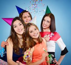 Have a Glam Girls Teen Birthday Party