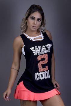 bb847033e0b6a Regata Way 2 Cool - Donna Carioca - Moda fitness com preço de fábrica