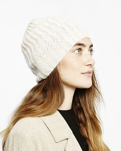 Beanie With a Noble Effekt Made of Fine Alpaca Lace