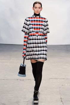Tanya Taylor Fall 2015 Ready-to-Wear Fashion Show - Look 7,Mona Matsuoka