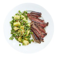 Martha & Marley Spoon, Steak and Potatoes with Green Bean Vinaigrette Meal Kit, Serves 2