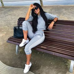 38 Comfy Casual Winter Streetwear for Girl Trendy Outfits, Summer Outfits, Cute Outfits, Fashion Outfits, Ootd Fashion, Style Fashion, Comfy Casual, Casual Wear, Comfy Outfit