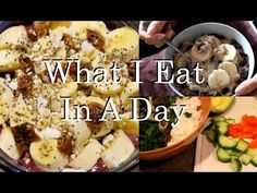 What I Eat In A Day as a Plant-Based Vegan! 31♥ - YouTube