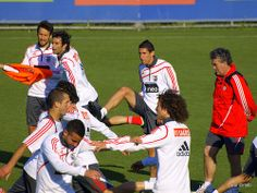 SL Benfica - Treino antes de jogo decisivo