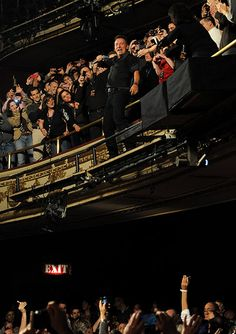 The Boss at the Apollo....Danny and I were there that night!
