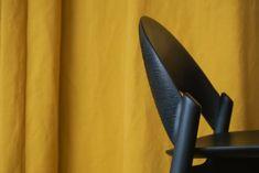 Sana bar stool by Monica Förster Design Studio for Zanat Positano Restaurant, Breaking The Waves, Hanging Flower Pots, Tulip Table, Restaurant Design, Warm Colors, Stockholm, Bar Stools, Studio