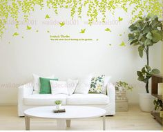 Vinyl Wall Decals Wall Stickers Tree Decals by walldecals001