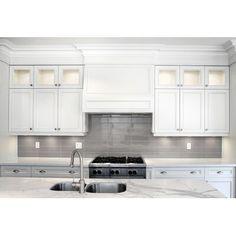 Parvatile Sail 4 x 16 Ceramic/Porcelain Tile in Latte Ikea Kitchen, Kitchen Decor, Kitchen Cabinets, Kitchen Tile, Kitchen Ideas, Kitchen Hoods, Basement Kitchen, Kitchen Counters, Countertops