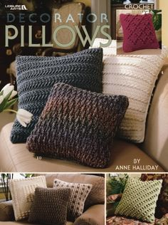Decorator Pillows - Crochet Patterns