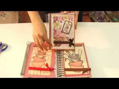 Caderno de Receitas - Hora de Arte - Arte Fácil - YouTube