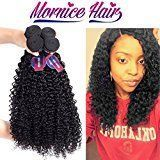 Mornice Hair 10A 4 Bundles Peruvian Remy Kinky Curly Virgin Hair Weave 100% Unprocessed Extensions Natural Black 400 Gram 12 12 14 14 inches Kinky Curly Hair, Curly Hair Cuts, Curly Hair Styles, Short Hair, Frizzy Hair, Wavy Hair, Protective Hairstyles, Weave Hairstyles, Cool Hairstyles