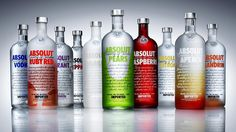 To have a collection of the different flavors of Absolut Vodka -- because I live in Åhus, where it is made!