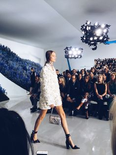 Paris Fashion Week Diary: Dior Spring 2016 | Visual Therapy #visualtherapy #fashion #pfw #dior
