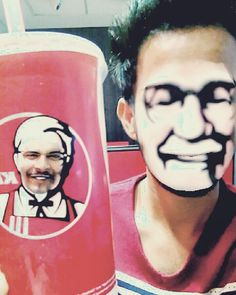 When you go to KFC so much  You actually look like Colonel.. Sorry Colonel! :p  #daniel #linz #daniellinz #danny  #kfc #faceswap #funnyfaceswap  #kentuckyfriedchicken #lovelove  #colonel #colonelsanders #lol  #kfcfaceswap #snapchat #me  #l4l #f4f #funnyswap #sorrycolonel  @worldsbestboy