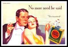"awesome vintage art and ads | ... Vintage 1930s Ad - No More Need Be Said - Wall Art Print 11"" x 14"