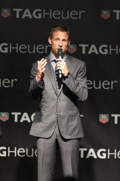 Jenson Button Photos: TAG Heuer Celebrated Abu Dhabi Grand Prix With McLaren Mercedes F1 driver, Jenson Button