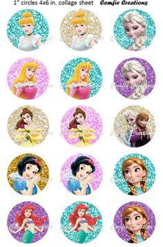 1 Yard Disney Princesses Grosgrain Ribbon Cake Craft Bow Wide 38mm Merida Belle