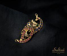 Tanishq Jewellery, Bead Jewellery, Temple Jewellery, Fine Jewelry, Gold Pendant, Pendant Jewelry, Emerald Jewelry, Gold Jewelry, Diamond Choker