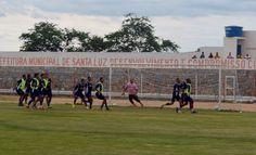 SANTA LUZ: Seleção faz último treino antes da final do Intermunicipal
