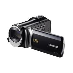 Samsung HMX-F90 5MP HD Camcorder in Black   16GB Deluxe Accessory Kit