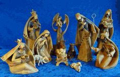 """10"""" Driftwood Nativity 12-pc Woodland Collection"""