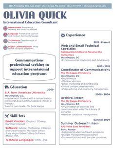 1000+ images about RESUME on Pinterest | Sample resume, Cover ... International Education Resume
