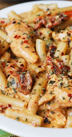 Chicken Bacon Spinach Pasta, Chicken Mozzarella Pasta, Italian Chicken Pasta, Chicken Noodles, Chicken Tomato Cheese Recipe, Recipes With Mozzarella, Mozzarella Cheese Recipe, Sundried Tomato Chicken Pasta, Garlic Basil Chicken