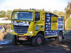 """DAF CF """"Euro 6-style cab""""  @  RTL GP Dakar Preproloog 2013"""