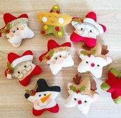 Handmade Christmas Crafts, Felt Christmas Decorations, Diy Christmas Ornaments, Xmas Crafts, Felt Ornaments, Christmas Cookies, Felt Crafts Patterns, Noel Christmas, Felt Dolls