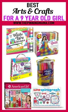 Craft Gift Ideas For A 9 Year Old Girl See 25 Of The Best
