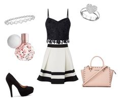 """Ari"" by thinkk-1 on Polyvore featuring Lipsy, Epoque, Michael Kors and Swarovski"