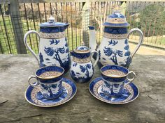 Blue Chinaware, Blue And White China, White Stuff, White Decor, Decoration, Tablescapes, Tea Time, Shopping Bag, Collections