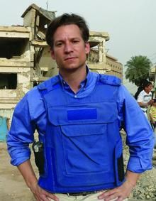 Richard Engel, Chief Foreign Correspondent for NBC news.  Has spent the majority of the last decade living in war torn countries.