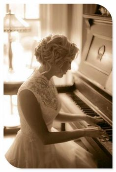 Playing The Piano: First you must learn to play by the rules, then you must forget the rules and play from your heart ღ