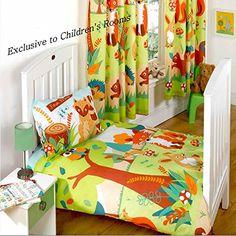 Forest Friends Toddler Bedding Bundle - Duvet Cover, Duvet, Pillowcase and Pillow Kids Shopping http://www.amazon.co.uk/dp/B00OJ1UNYE/ref=cm_sw_r_pi_dp_dIhIub08YH93H