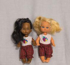Mattel Barbie Heart Family Teacher Toddler African American / Blonde Kelly Girls #Mattel #DollswithClothingAccessories
