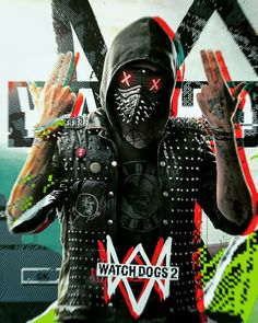 Wrench Watch Dogs 2, Watch Dogs 1, Video X, Video Game, Assassins Creed, Game Character, Character Design, Time Cartoon, Wallpaper Naruto Shippuden